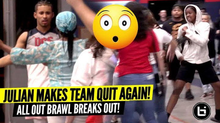 Julian Newman Makes Team QUIT AGAIN & All Out BRAWL...