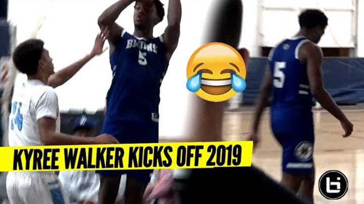 Kyree Walker Hits The DAGGER & Walks Off The Court...