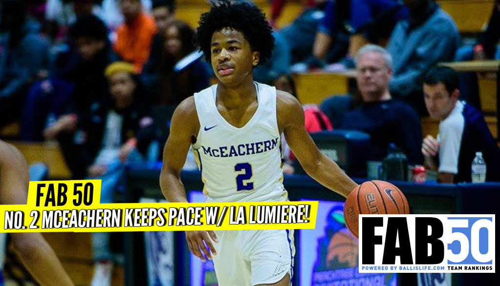 UPDATED FAB 50: McEachern Keeps Pace W/ La Lu!
