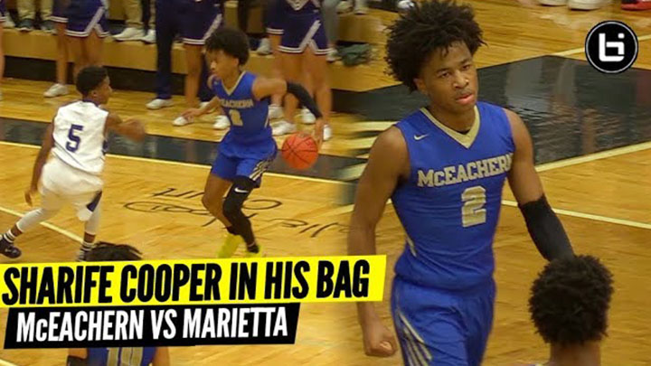 SHARIFE COOPER WAS IN HIS BAG! McEachern Vs Marietta