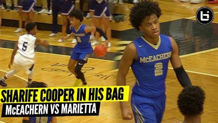 SHARIFE COOPER WAS IN HIS BAG! McEachern Vs Marietta