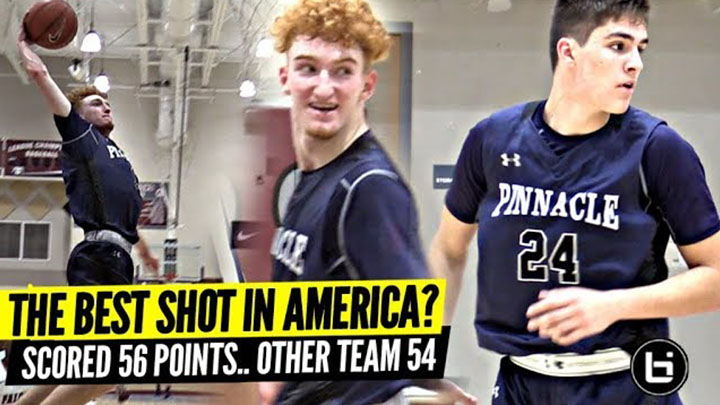 Nico Mannion's Teammate The BEST SHOT In America!? SCORED ALL OF THE TEAM'S POINTS & WON!!