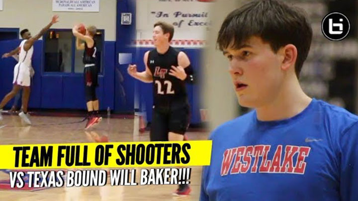 Team FULL OF SHOOTERS VS Will Baker! Ballislife Highlights
