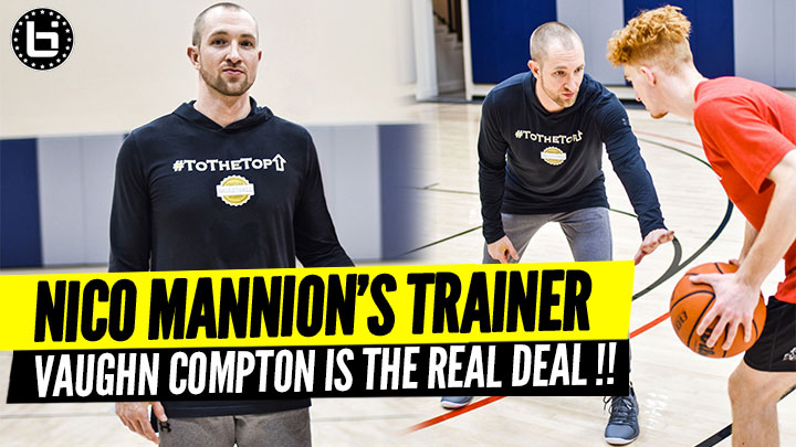 Nico Mannion's Trainer Vaughn Compton is the Top Skills Coach on the West Coast