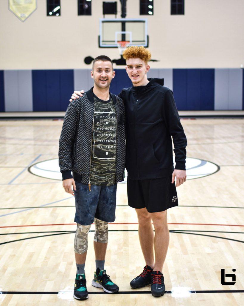 Robbie Tripp and Nico Mannion