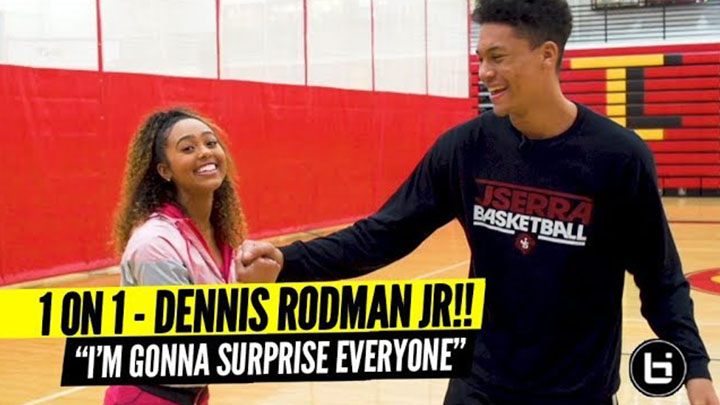 Dennis Rodman Jr Up Close & Personal w/ Son of NBA...