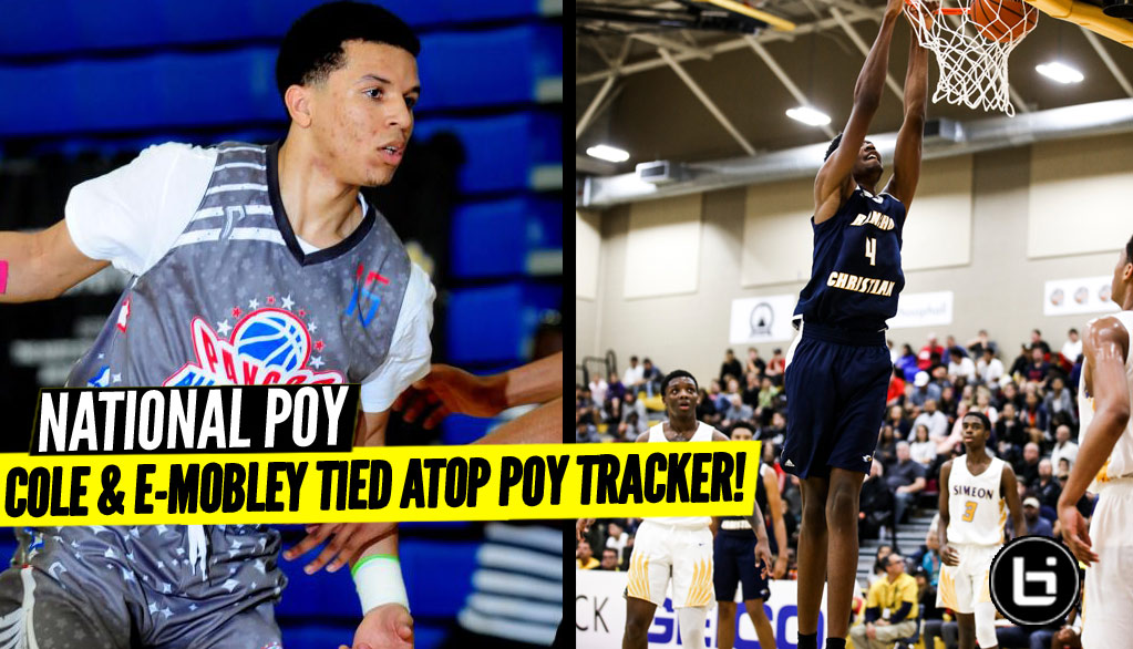 Cole Anthony, Evan Mobley Lead Pack in WIDE OPEN POY Race!
