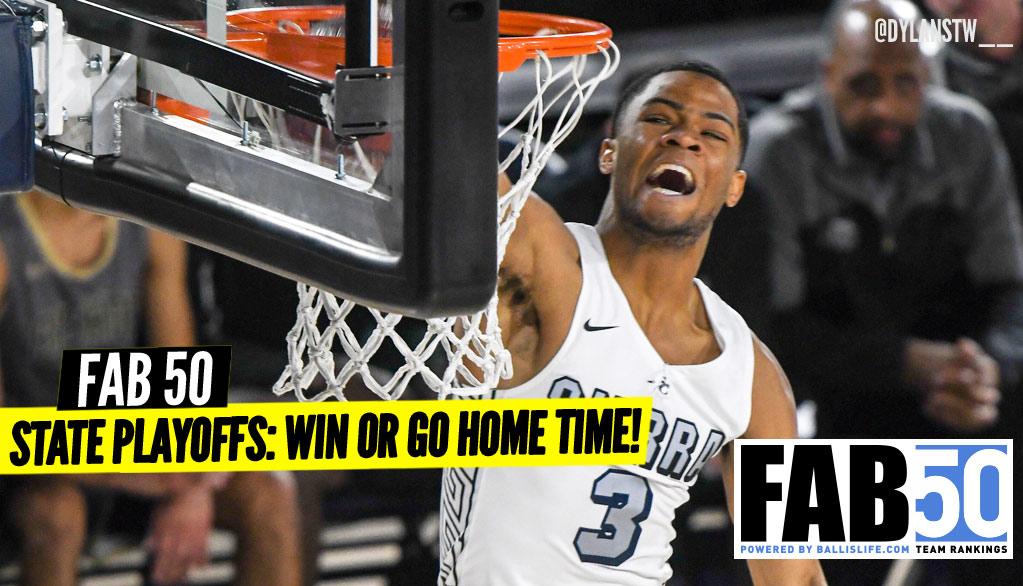 NEW FAB 50: Win or GO HOME Season!