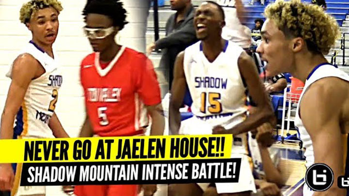 DON'T TALK TRASH To JAELEN HOUSE!! Shadow Mountain Game Gets INTENSE!!