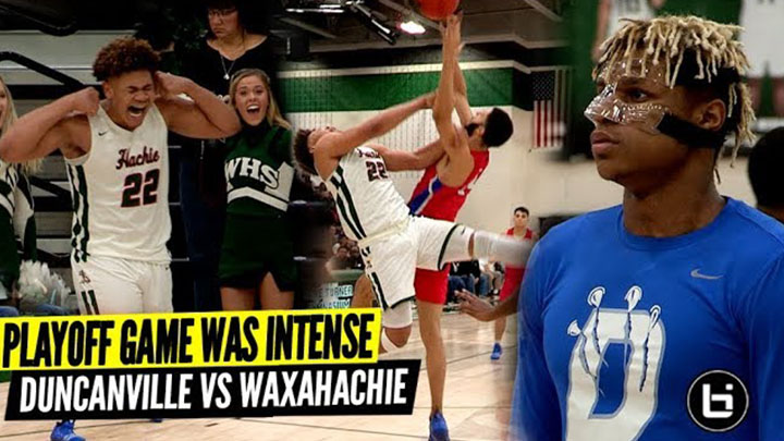 This Playoff Game Was INTENSE! Duncanville vs Waxahachie Ballislife Highlights