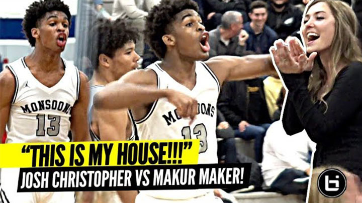 """THIS IS MY HOUSE"" Josh Christopher TAKES OVER vs 5 Star Makur Maker!! Mayfair vs Olu Playoff Game!!"