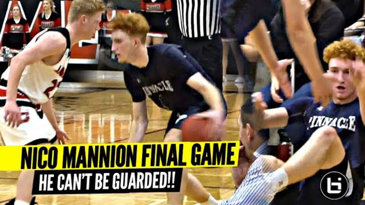 U Can't Guard Nico Mannion!! Nico Makes It Look EASY...