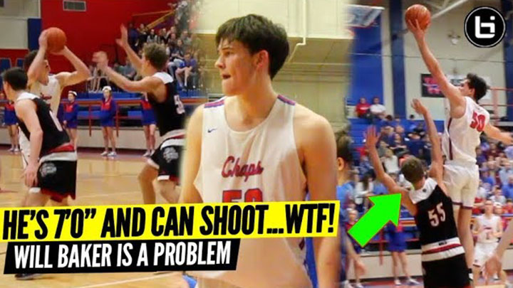 HE'S 7'0″ AND CAN SHOOT…WTF! Will Baker Is A Problem