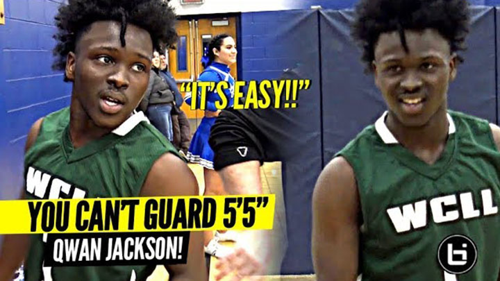 CAN U GUARD 5'5″ Qwan Jackson!? (Probably Not ??) Makes 40 Points Look EASY!!