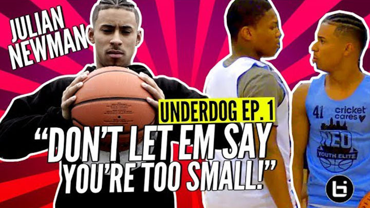 Underdog Ep. 1. Julian Newman Has a Message For All Hoopers!