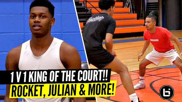 Rocket Watts and Julian Newman Show Out in 1 on 1 King of the Court!!
