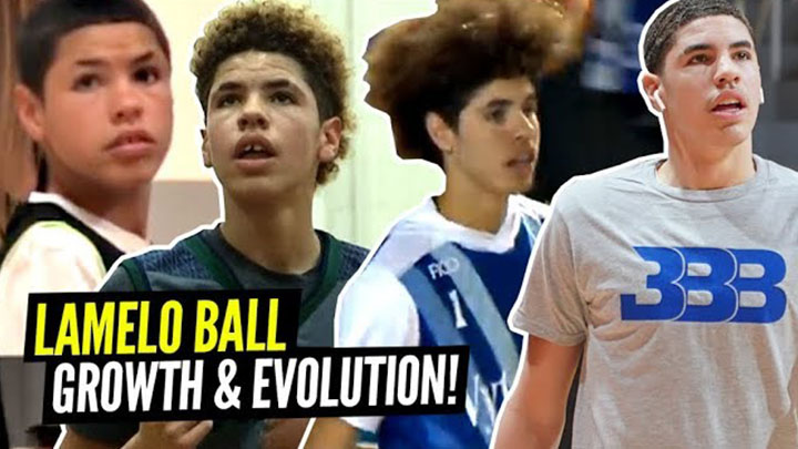 LaMelo Ball's Incredible Evolution From 5'5 13 Year Old to 6'7 17 Year Old!