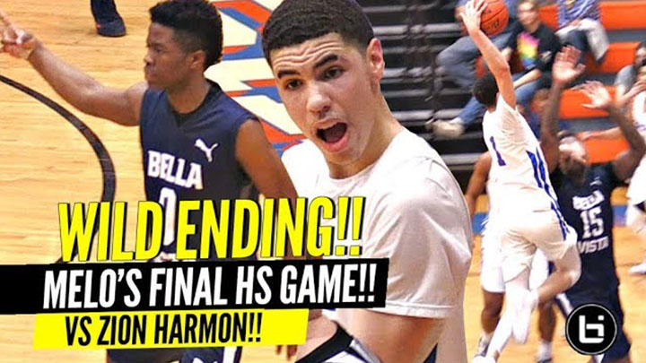 LaMelo Ball CHAMPIONSHIP Game vs Zion Harmon GETS WILD!