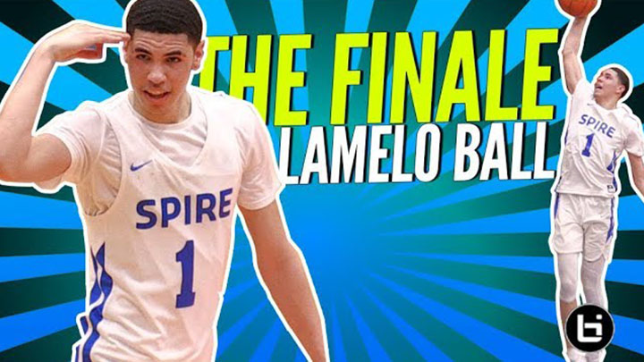 LaMelo Ball's Final Week of High School Basketball |...