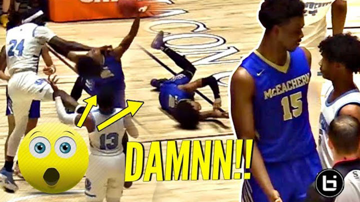 They PISSED OFF Sharife Cooper In The State Finals…Bad Idea!! McEachern FIGHTS FOR CHAMPIONSHIP!!!