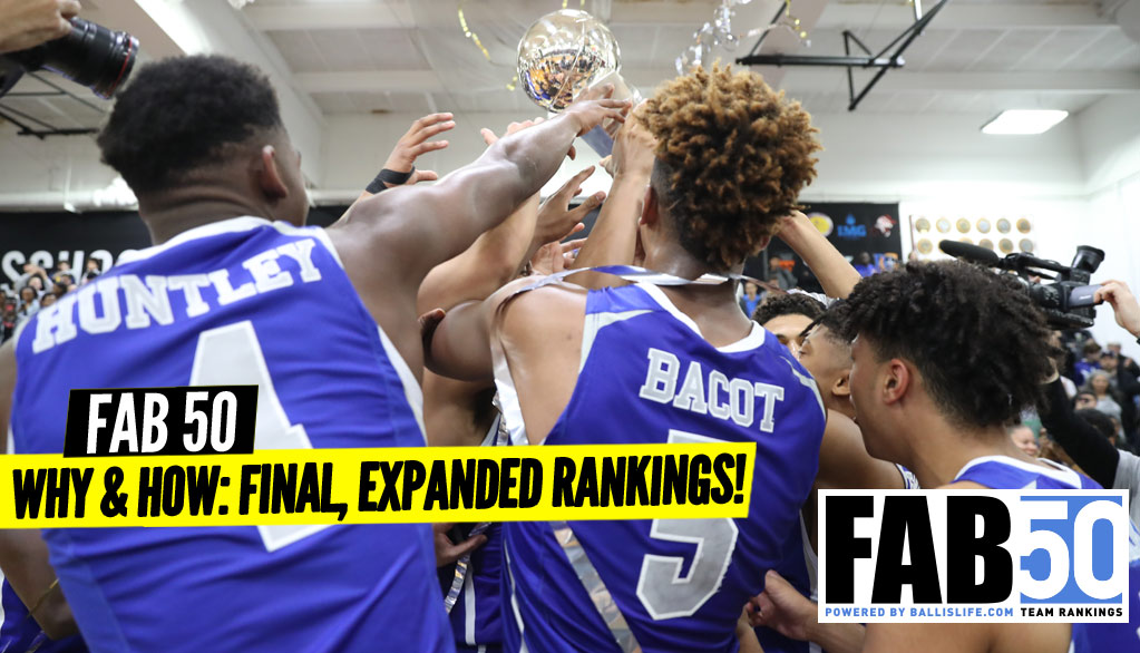 Final, Expanded 2018-19 FAB 50 Rankings!