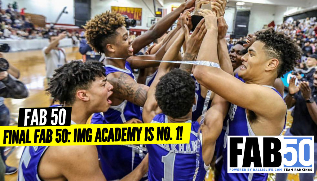 FINAL 2018-19 FAB 50: IMG Academy Is No. 1!