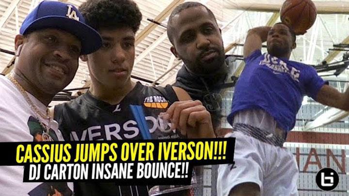 Cassius Stanley Dunks OVER Allen Iverson!! Iverson Classic Dunk Contest Full Recap!
