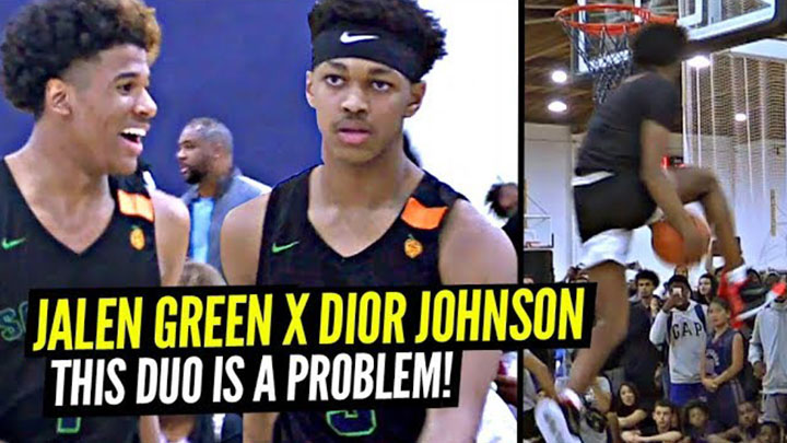 Jalen Green and Dior Johnson are a DANGEROUS Backcourt!