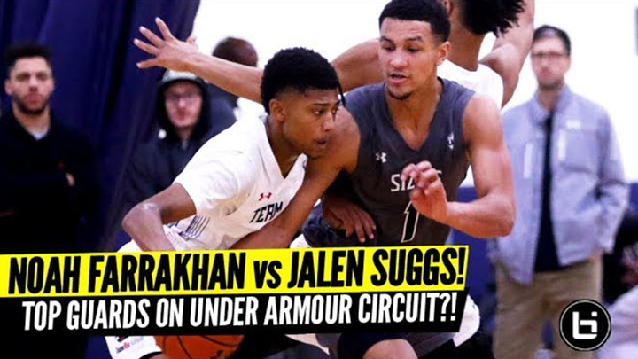 Jalen Suggs vs Noah Farrakhan! Top Point Guards Face Off!
