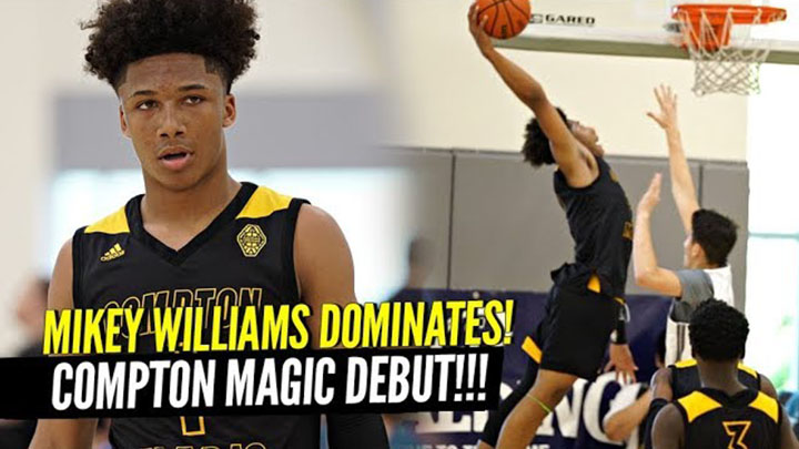 Mikey Williams Dominates in 1st AAU Game with the Compton Magic!