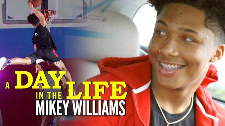 A Day in the Life of Superstar 8th Grader Mikey Williams