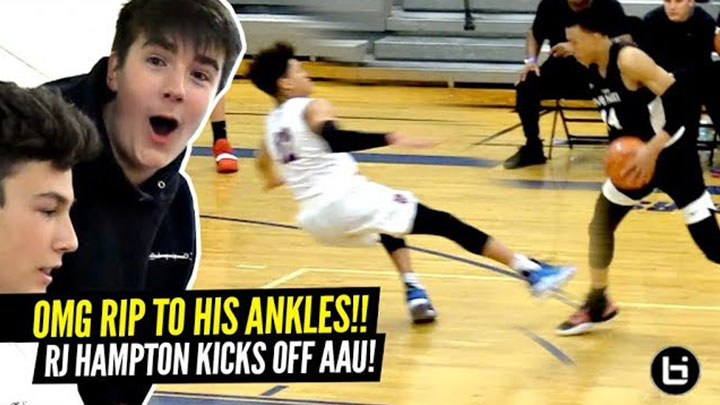 This Ankle Breaker HURT to Watch!! RJ Hampton Snatches Defender's Soul From His Body!!