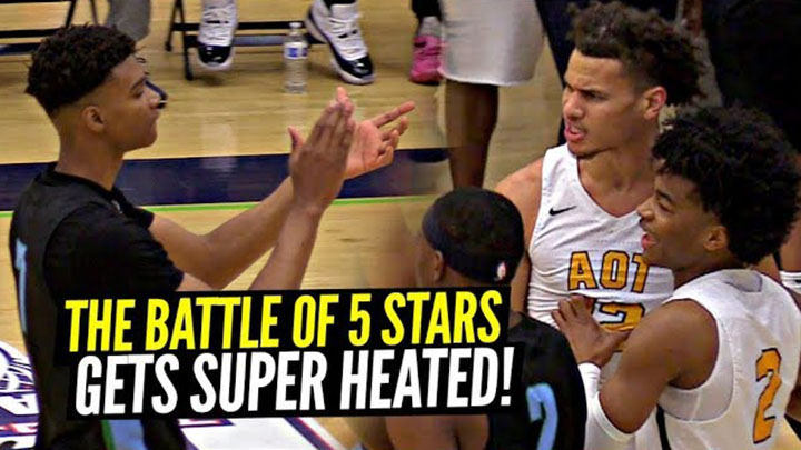 Sharife Cooper vs Scottie Barnes Got Heated!!