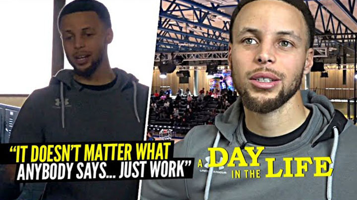 "Steph Curry Has a Message! ""It Doesn't Matter WHAT They Say!"""