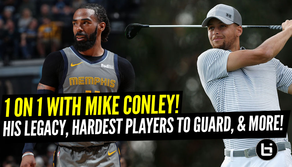 Positionless Podcast: Mike Conley on facing criticism, toughest players to guard, best NBA golfers and more.