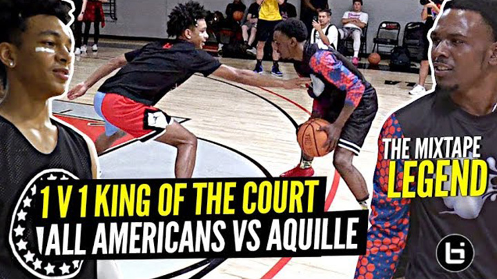 1 V 1 King Of The Court All Americans vs Mixtape LEGEND Aquille Carr!