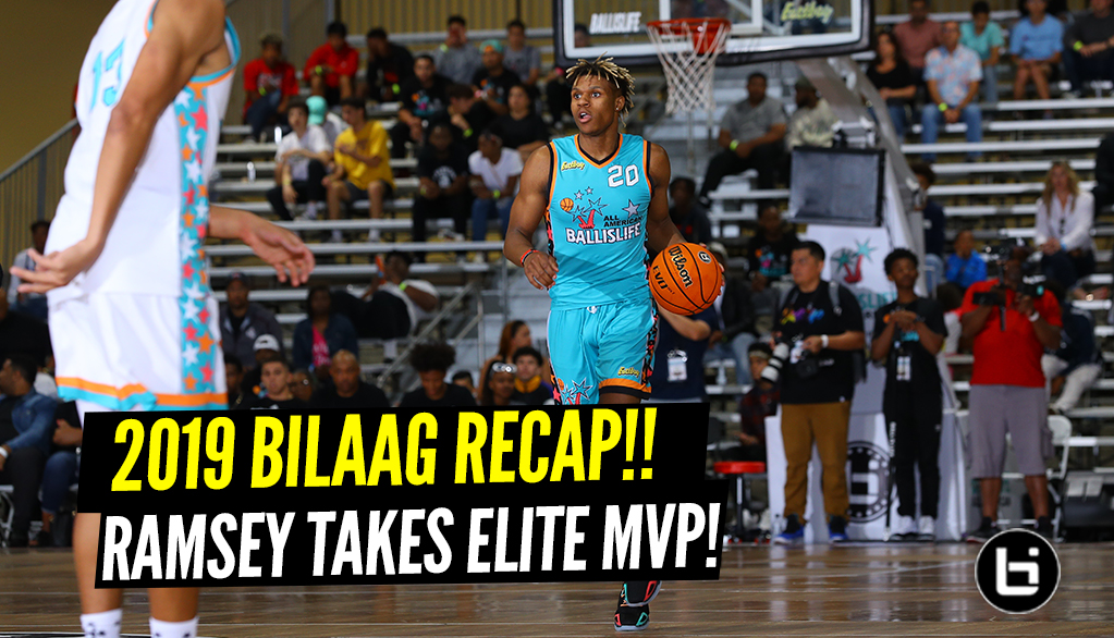 Ramsey, Mobley take home 2019 Ballislife All-American Game MVP Honors