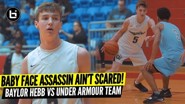 Baylor Hebb Isn't Scared of an Under Armour Circuit Team!