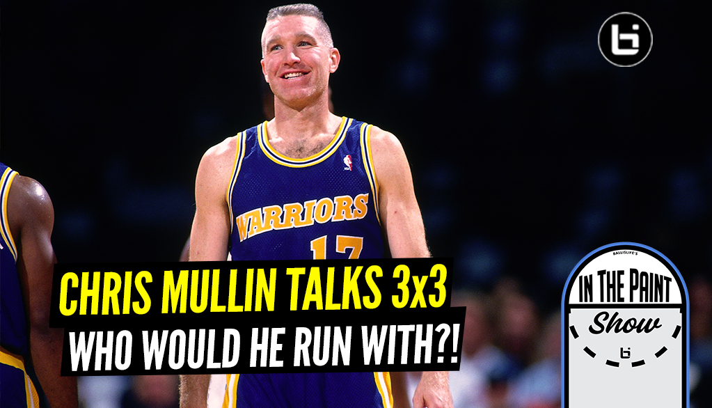 NBA Legend Chris Mullin Joins In The Paint with Ron & Dev, Talks 3-on-3 Hoops, Who He Would Run With!