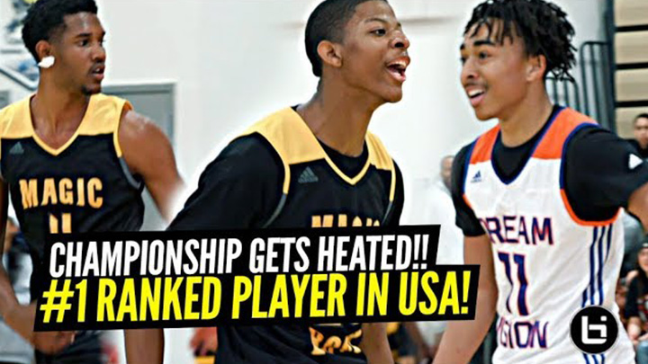#1 Ranked Evan Mobley Gets HEATED in the Championship! Compton Magic vs Dream Vision!