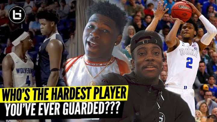 "Ballislife All-Americans Answer ""Who's the..."