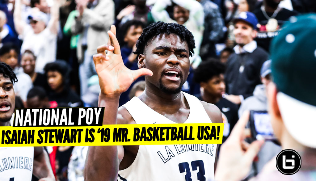 Isaiah Stewart Named Mr. Basketball USA!