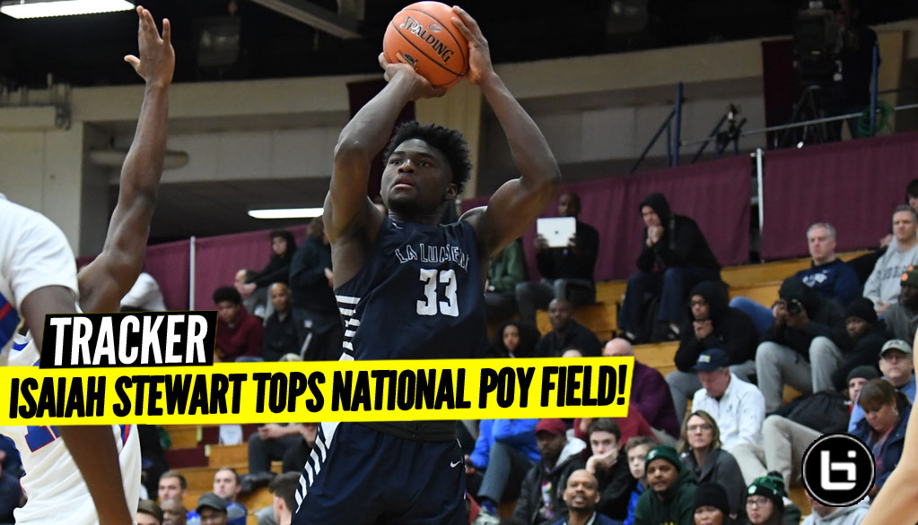 Isaiah Stewart TOPS Final POY Tracker!