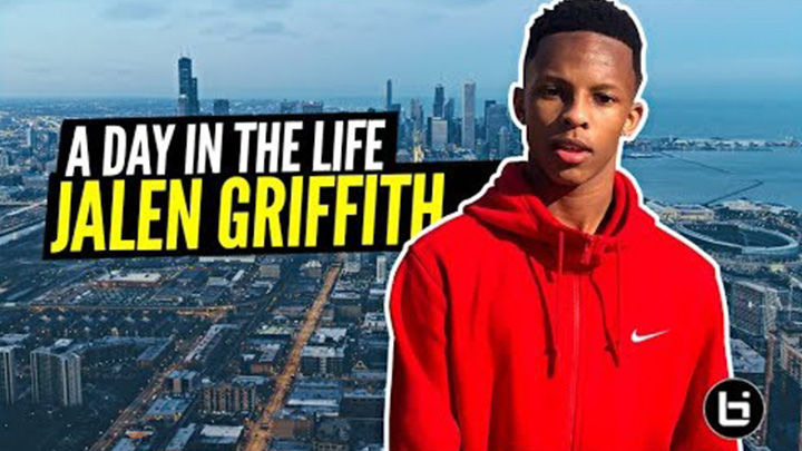 Day in the Life w/ Chicago's Coldest PG: Jalen Griffith!!