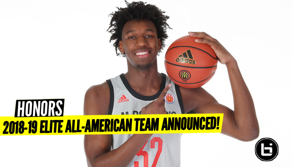 2018-19 Elite All-American Team Announced!