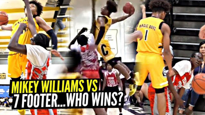 Mikey Williams ENDS Defender's LIFE & Stares Him DOWN!