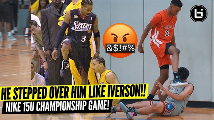 SAVAGE! He Stepped Over The Defender Like Iverson! Nike Drive Nation Vs Westbrook Why Not!