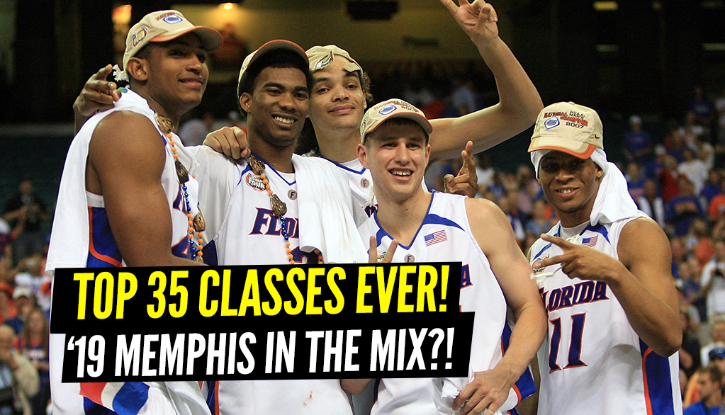 35 Greatest Recruiting Classes Of All Time