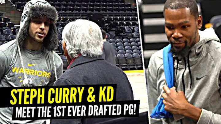 Steph and KD Meet the Japanese American Who Was the NBA's FIRST Ever Point Guard!