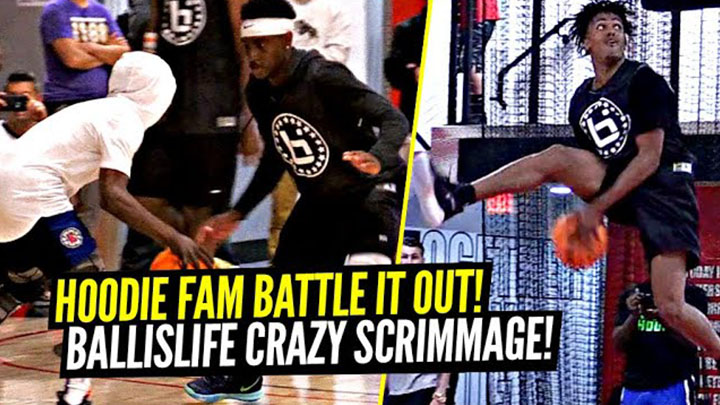 Aquille Carr SURPRISES Ballislife All Americans During Scrimmage!